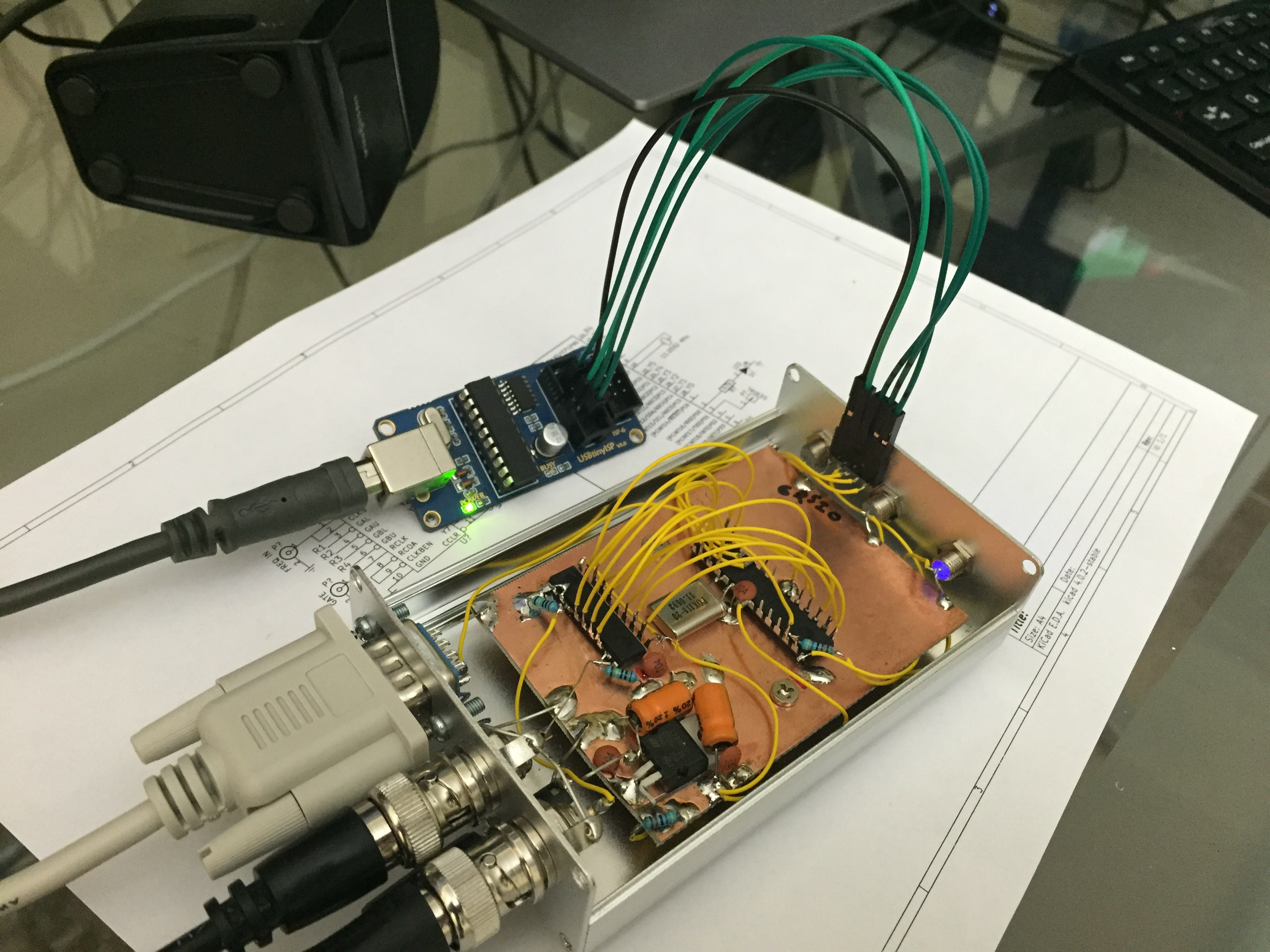 Microcontrollers Page 2 Kit K Compatible Microcontroller Atmega328p Breadboard Us Ebay I Super Glued A Female Header To The Aluminum Frame Make In Circuit Serial Programming Icsp Easy Cant Believe Never Thought Do This Before