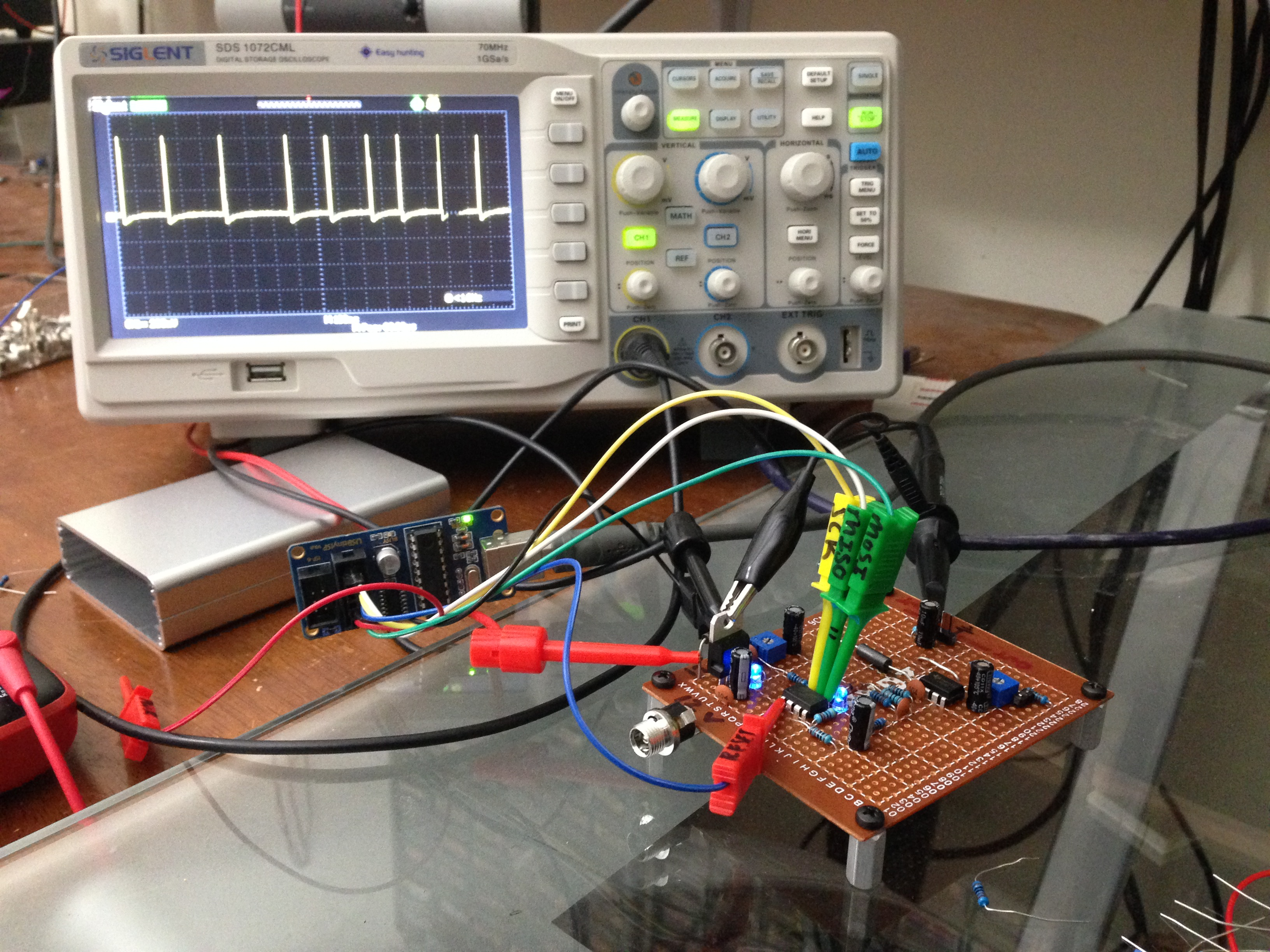 Circuit Breathing Effect Generator Electronic Circuit Projects