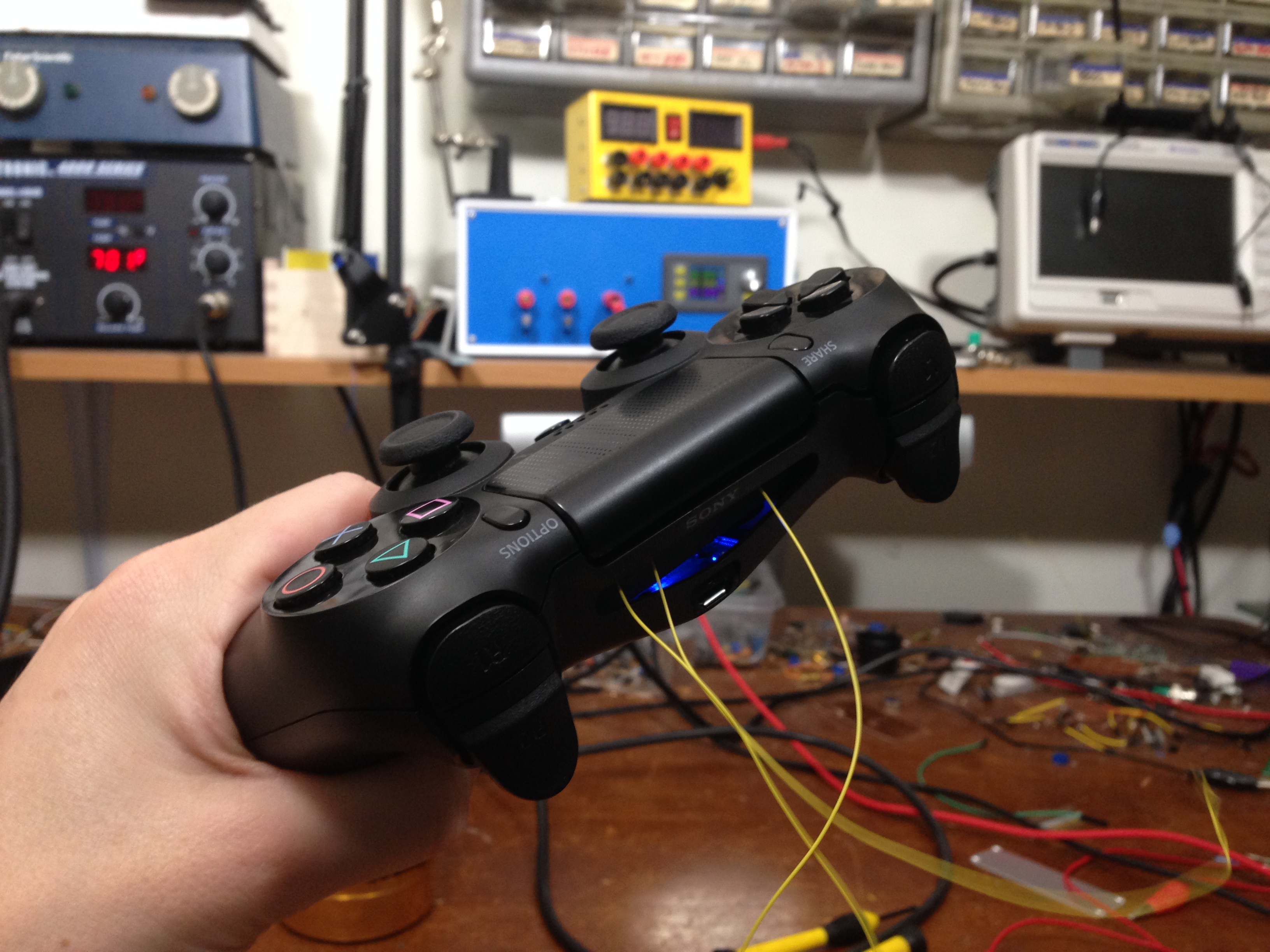 PS4 Controller Hack – Adding Auto-Run – SWHarden com